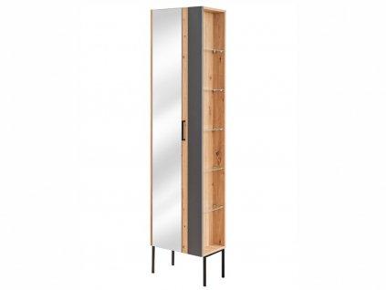 Vysoká stojatá skříňka - MADERA 803+880 grey