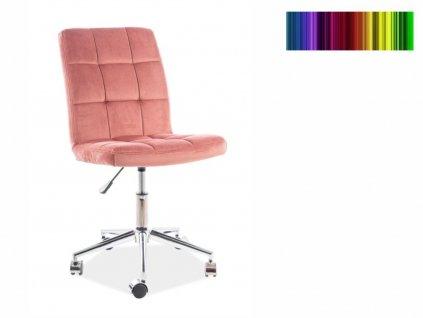 Kancelářská židle - Q-020 Velvet