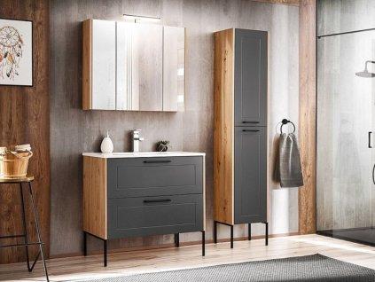 Koupelna - MADERA grey, 80 cm