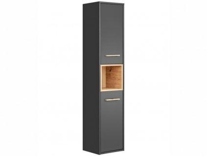 Vysoká závěsná skříňka - BORNEO 800