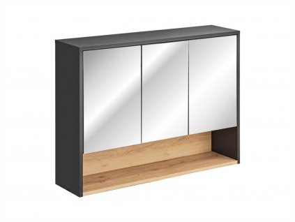 Závěsná skříňka se zrcadlem - BORNEO 845