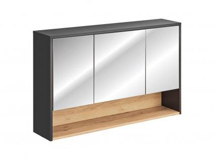 Závěsná skříňka se zrcadlem - BORNEO 843
