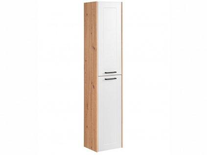 Vysoká závěsná skříňka - MADERA 800 white