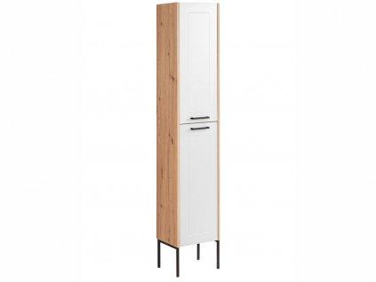 Vysoká stojatá skříňka - MADERA 800+880 white