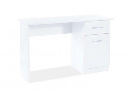 Psací stůl - B-002, bílá