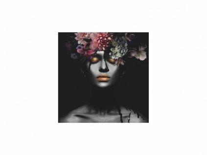 Obraz - Flower Woman III 80x80
