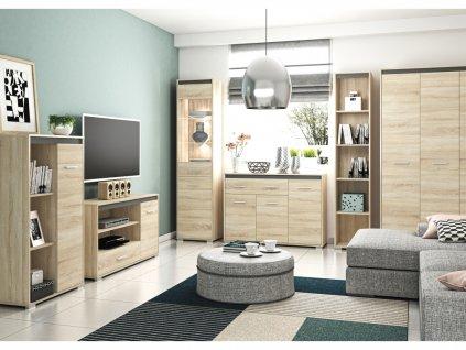 Obývací pokoj AVO, sestava č. 2