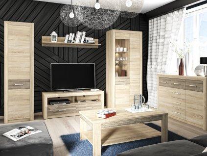 Obývací pokoj CASTEL, sestava č. 1