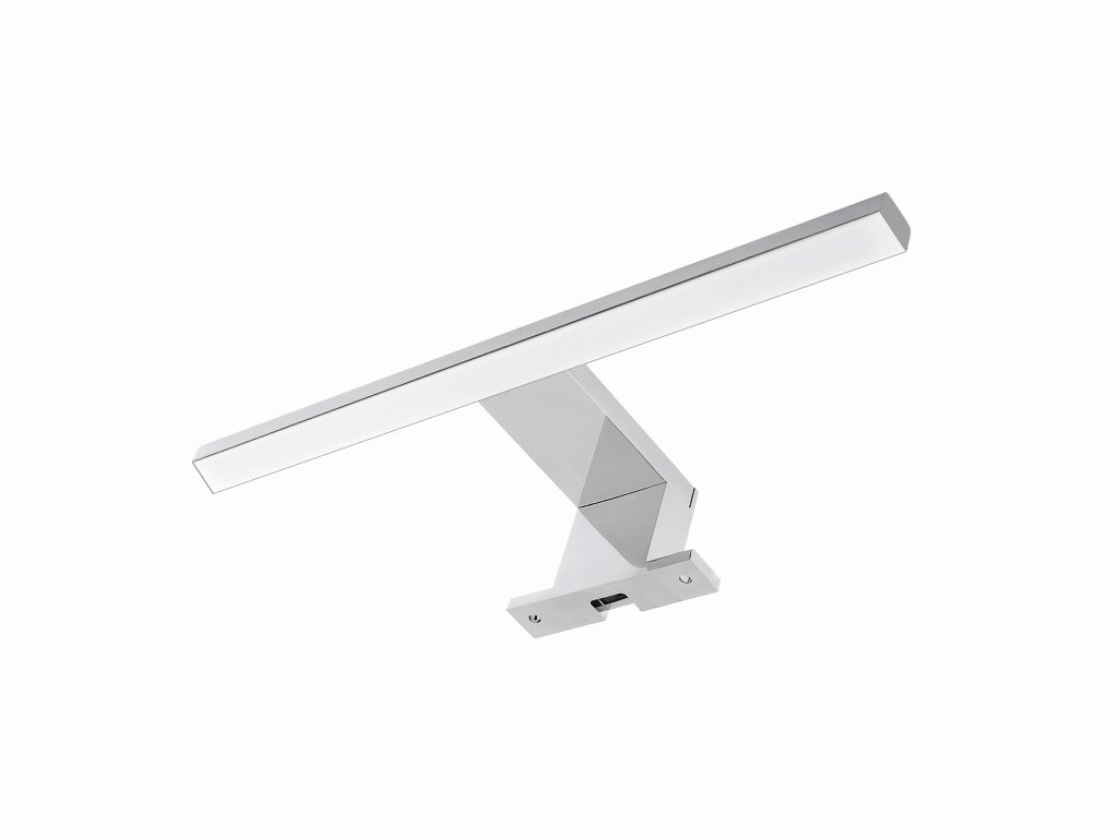 MAXIVA LED osvětlení - ALA 40 stříbrná, do koupelny, délka 40 cm, IP44