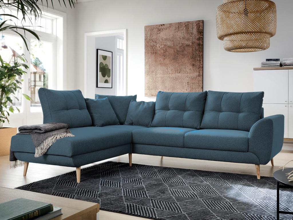 STAY, různé tkaniny a barvy na výběr Orientace: levá, Čalounění: zelená (Ontario 35)