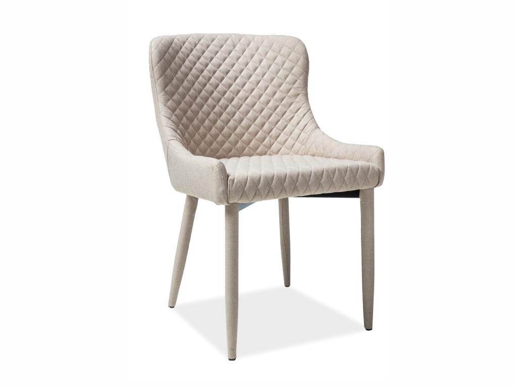 MAXIVA Jídelní židle - COLIN, různé barvy na výběr Čalounění: denim (tap.07)