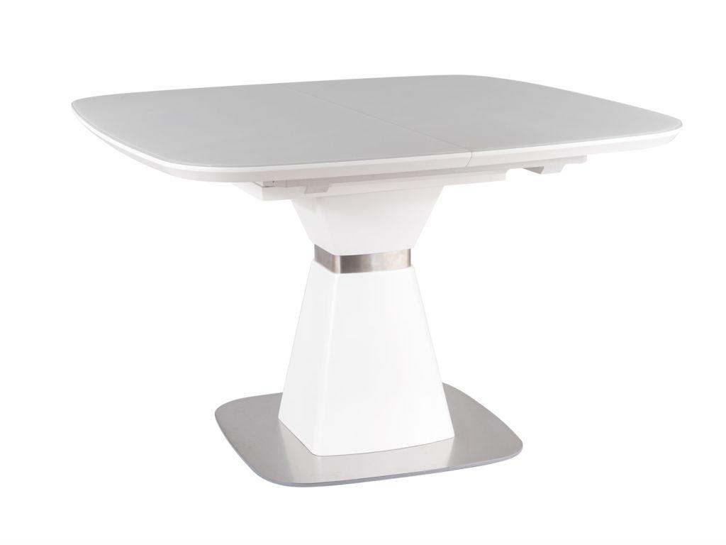 MAXIVA Jídelní stůl rozkládací - SATURN, bílá