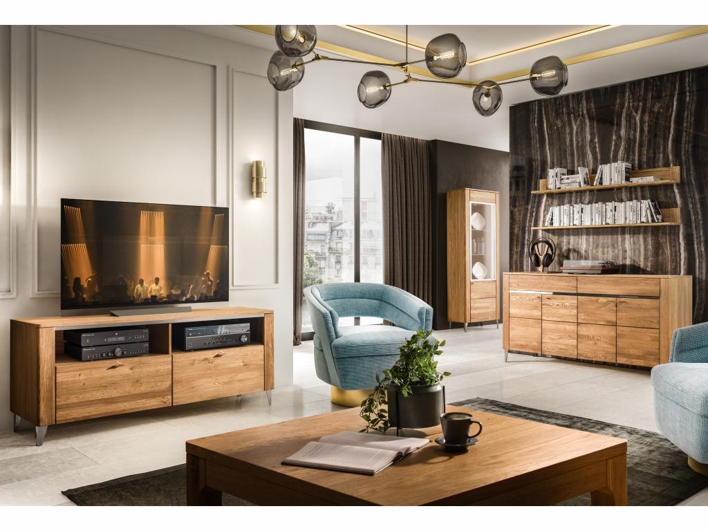 MAXIVA Obývací pokoj LATINA, sestava č. 1, medový dub