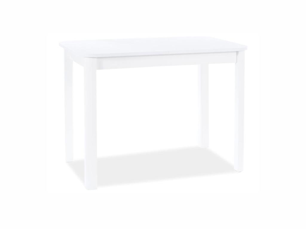 MAXIVA Jídelní stůl - DIEGO I, 105x65, bílá