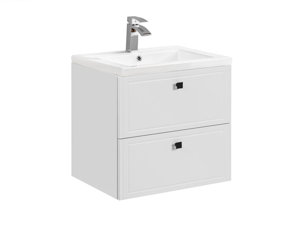 MAXIVA Závěsná skříňka pod umyvadlo - HAVANA 82-60, šířka 60 cm, bílá