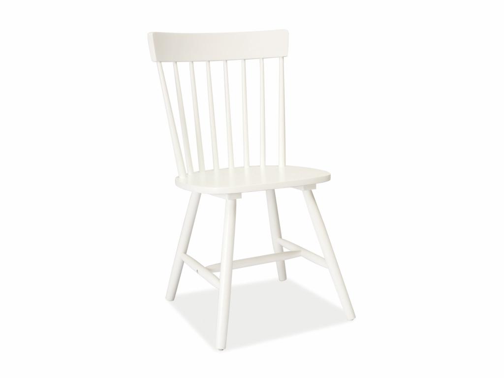 MAXIVA Jídelní židle - ALERO, bílá