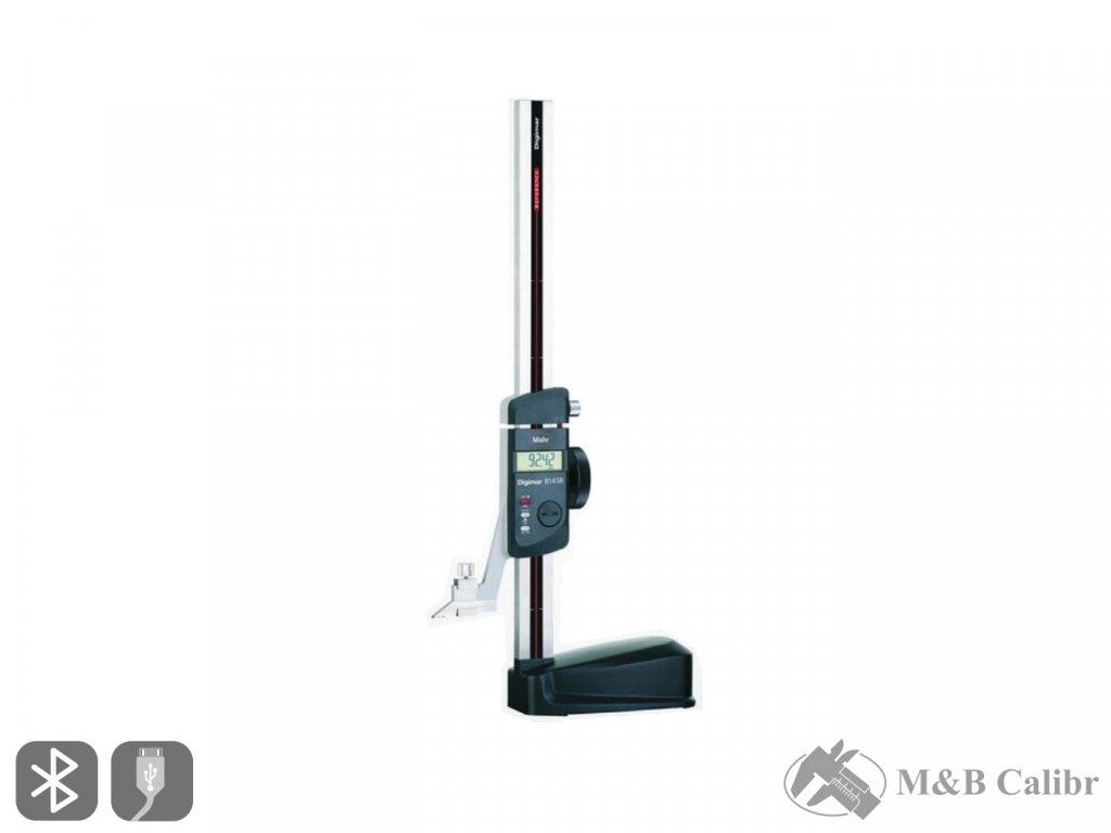 "814 SR Digital Height Gage 350mm/14"" Mahr"