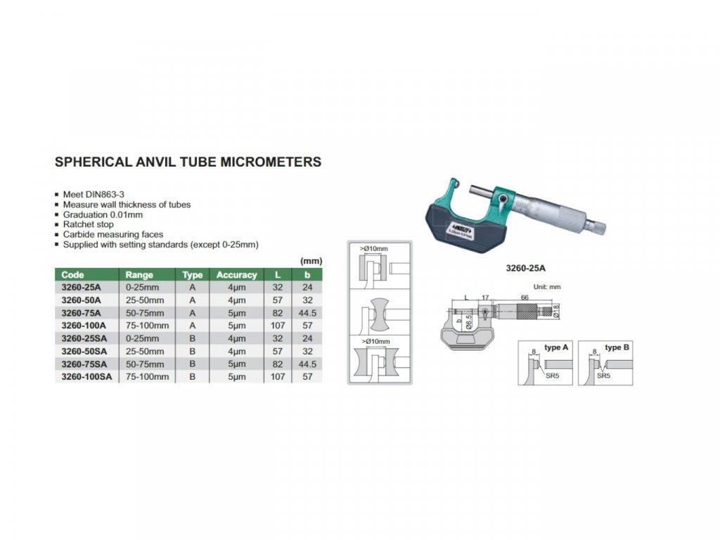 trmenovy-mikrometr-s-kulovym-nebo-valcovym-pevnym-dotekem-insize-0-25-mm--typ-a