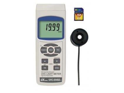 Měřič UV záření UVC 254 SD