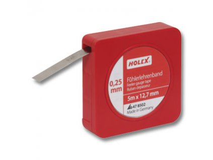 Spárové kalibrační pásky v cívkách Holex tloušťka 0,7 mm