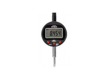 Úchylkoměr číselníkový digitální KINEX, kovové pouzdro, 0-12,7 mm, IP 54