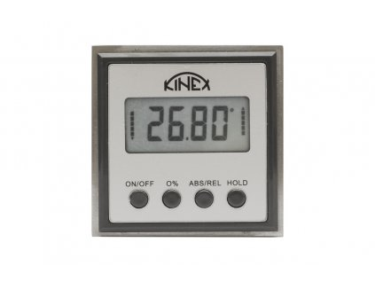 Digitální vodováha / sklonoměr KINEX 54x54x21 mm
