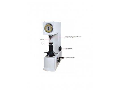 Manuální tvrdoměr Rockwell a Super Rockwell HDT-RSR100