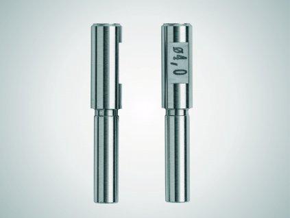 844 TZ CYLINDRICAL MEASURING PINS, 2.5 MM DIA, PAIR Mahr