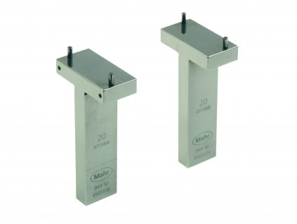 844 Sp T-shaped Gage blocks 20 mm for depth up to 40 mm Mahr