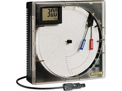 Záznamník teploty a vlhkosti TH803 kotoučový