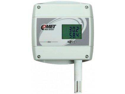 COMET T7610 s PoE snímač teploty , vlhkosti a barometrického tlaku s výstupem Ethernet