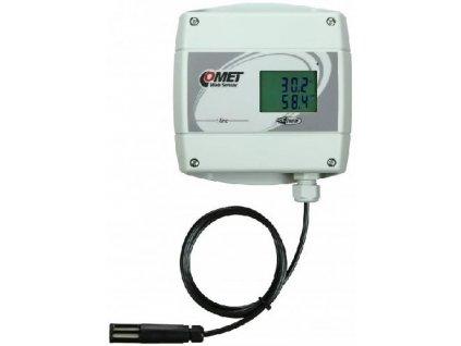 COMET T7611 s PoE snímač teploty , vlhkosti a barometrického tlaku s výstupem Ethernet
