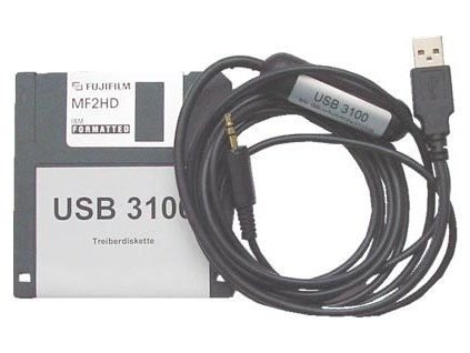USB 3100 rozhraní pro GMH přístroje
