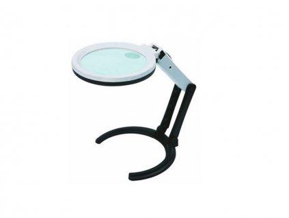 Multifunkční lupa s osvětlením, zvětšení 2x a 4x INSIZE 7512 1