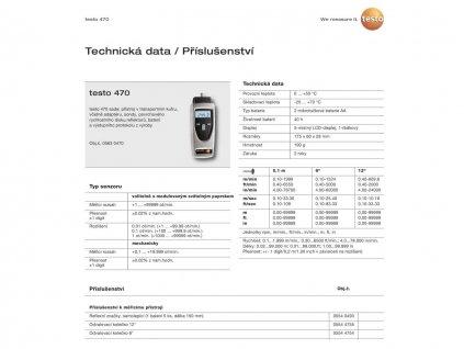 Digitální ruční tachometr