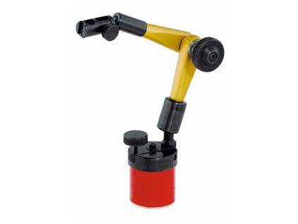 Hydraulický malý stativ s magnet. nohou (bez páčkového úchylkoměru)