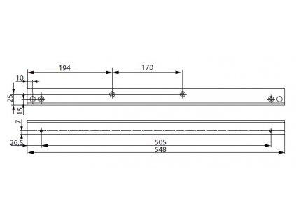 1246 a116 montazni plech l bocni g461 464