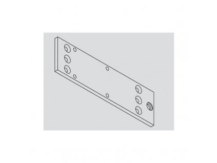 GEZE montážní deska pro GEZE TS1500 (Barva stříbrná)