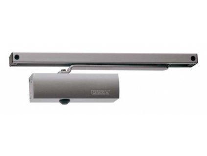 GEZE TS 1500 G s kluznou vodící lištou (Barva stříbrná)