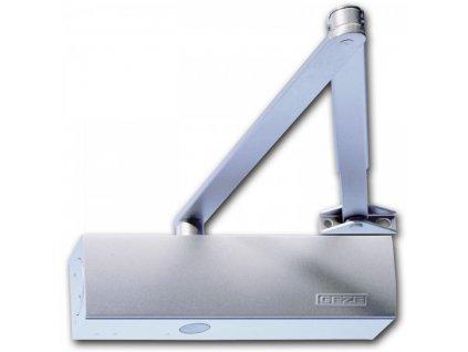 GEZE TS 2000 V s aretačním ramínkem - bez možnosti vypnutí funkce (Barva stříbrná)