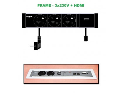 679 magnat frame 010 3x 230v hdmi
