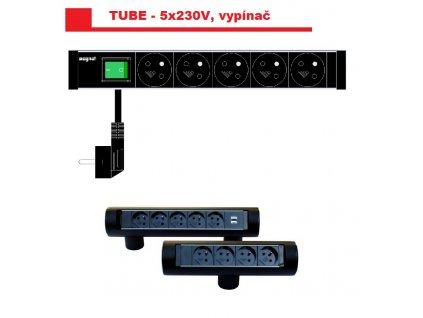841 magnat tube03 5x230v vypinac