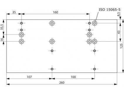 1267 montazni plech extra dlouhy tisicihran a121