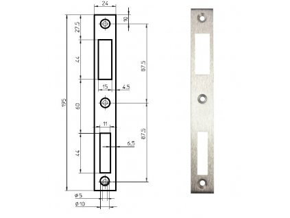 379 protiplech p9600 17 pro uzke zamky