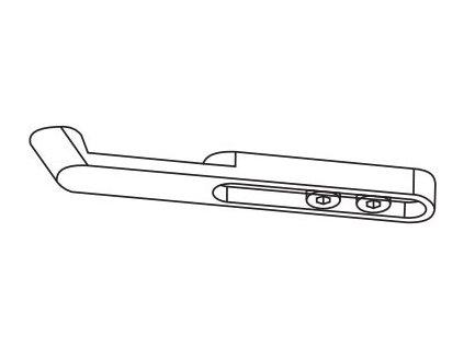 Ramínko s hákem G120 (Barva nerez)