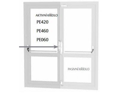 997 pe420 pe460 ramove dvere aktivni kridlo
