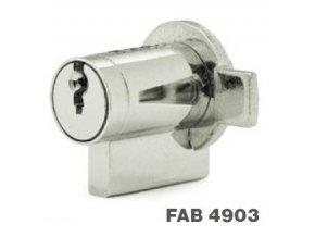 Cylindrické vložky se závorkou FAB 4903, FAB 4904 (Provedení 4904)