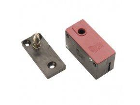 ERBI Skříňkový zámek MINI s PIN kolíčkem (Barva černá)
