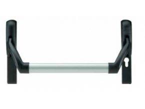 EUROSMART zadlabací paniková hrazda (typ: 3640/17/72 Nerez kryty+hrazda nerez 1200mm, rozteč 72mm)