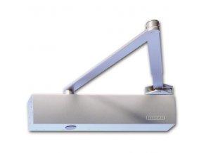 GEZE TS 4000 s aretačním ramínkem - bez možnosti vypnutí funkce aretace (Barva stříbrná)